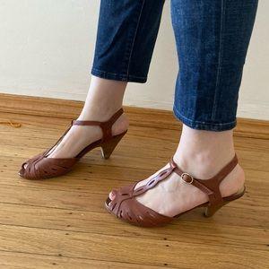Seychelles T Strap Heel Sandals